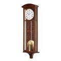 Mahogany viennese regulator clock