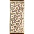 Moroccan fabric panel