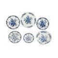 Worcester porcelain plates