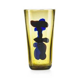 Fulvio bianconi venini con macchia glass vase