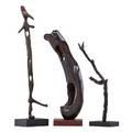 Mario dal fabbro three sculptures