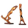 Mario dal fabbro two sculptures