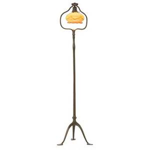 Tiffany studios quezal floor lamp