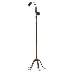Realized price for tiffany studios counterbalance floor lamp tiffany studios counterbalance floor lamp base aloadofball Image collections