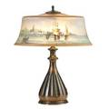 Pairpoint table lamp new bedford scene