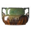 Fulper twohandled vase