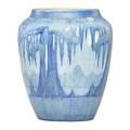 Af simpson newcomb college scenic vase