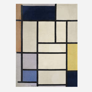 After Piet Mondrian   Composition with Red Yellow and Blue for The Ege Art Line