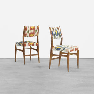 Gio Ponti   pair of Leggera chairs from the Royal Hotel Naples