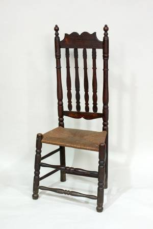 Bannister Back Chair Mid18th Century