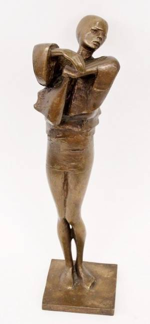 David Backhouse Figural Bronze Sculpture