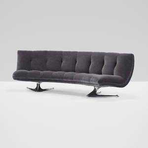 Vladimir Kagan   Unicorn sofa