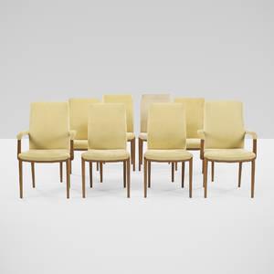 Helge Vestergaard Jensen   dining chairs set of eight