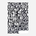 Christopher Wool and Felix GonzalezTorres   Untitled poster