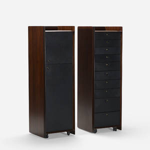 Afra and Tobia Scarpa   Artona cabinets pair
