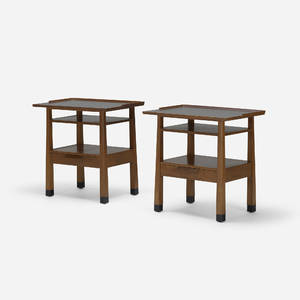 Edward Wormley   end tables model 5268 pair