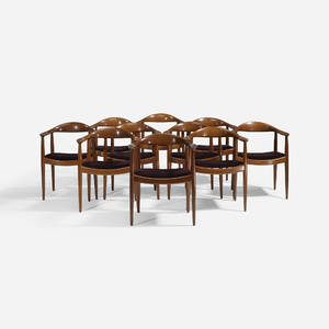 Hans J Wegner   The Chairs set of ten