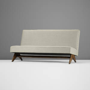 Pierre Jeanneret   sofa from Punjab University Chandigarh