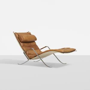 Preben Fabricius and Jorgen Kastholm   Grasshopper chaise lounge