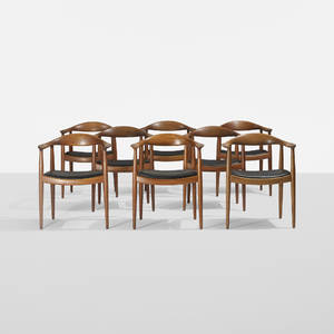Hans J Wegner   The Chairs set of eight