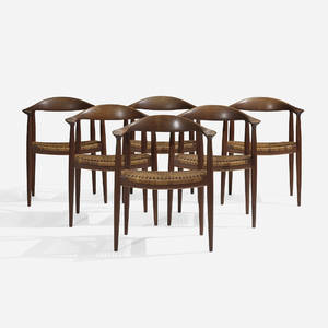 Hans J Wegner   The Chairs set of six