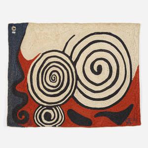 After Alexander Calder   Swirls tapestry