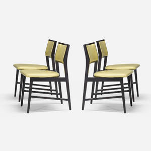 Edward Wormley   dining chairs model 432 set of four