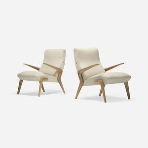 Osvaldo Borsani   P71 lounge chairs pair