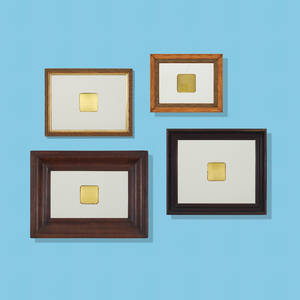 Lawrence Laske   Golden Nugget mirrors set of four