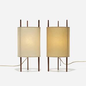 Isamu Noguchi   table lamps model 9 pair