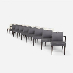 Edward Wormley   dining chairs model 4592 set of sixteen