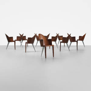 Philippe Starck   Royalton dining chairs set of twelve