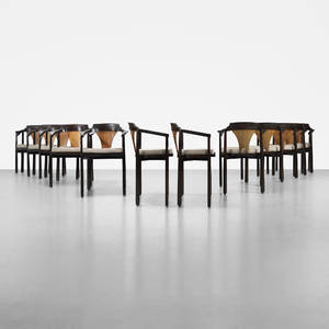Edward Wormley   dining chairs set of twelve