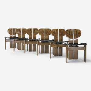Afra and Tobia Scarpa   Artona chairs set of six
