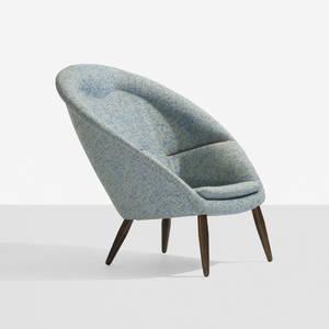 Nanna and Jrgen Ditzel   rare lounge chair