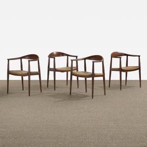Hans J Wegner   The Chairs set of four