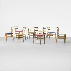 Gio Ponti   Leggera chairs set of eight