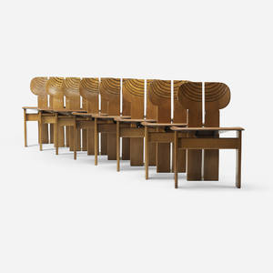 Afra and Tobia Scarpa   Artona chairs set of eight