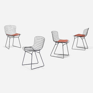 Harry Bertoia   child chairs set of four