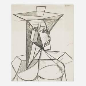 Pablo Picasso 18811973  Buste de Femme
