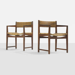 Peter Hvidt and Orla MlgaardNielsen   armchairs pair