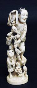 406 CARVED IVORY GROUP