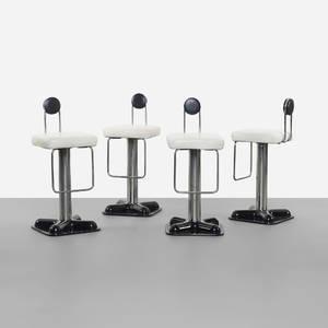 Joe Colombo   Birillo stools set of four
