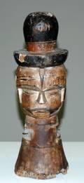 373 NEW GUINEA TRIBAL JANUS HEAD