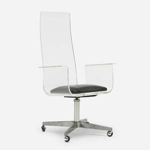 In the manner of Erwine and Estelle Laverne   desk chair