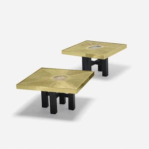 Paco Rabanne   coffee tables pair