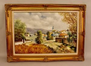 Malva Severios Scenic View of a Village