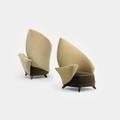 Jordan Mozer   pair of Crispate chairs from the DAlba Residence Glencoe