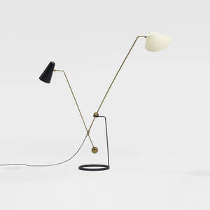 Pierre Guariche   Equilibrium DoubleBranch floor lamp