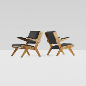 Lina Bo Bardi   lounge chairs pair